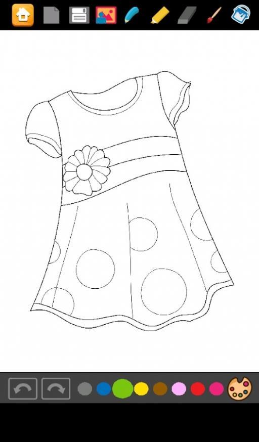 Boyama Kızlar Için Elbise Indir Android Eğitici Oyunlar Indircom