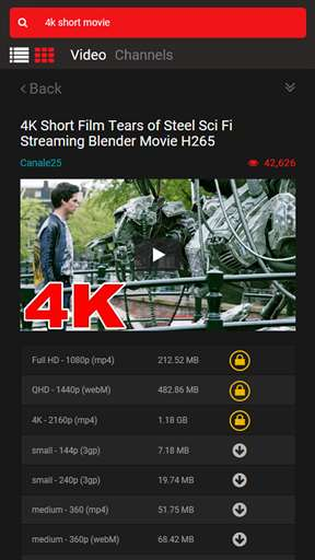 Download Youtube Video Downloader and Converter up to 4K Resolution