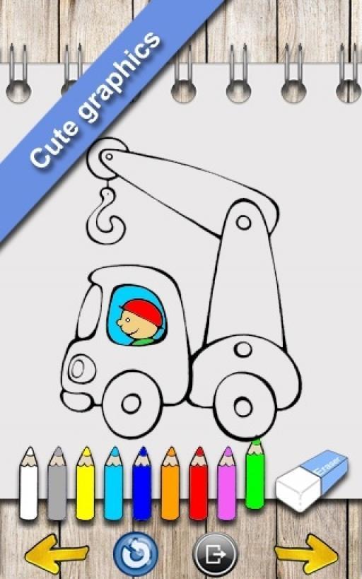Otomobil Boyama Kitabı Indir Android ücretsiz Oyun Uygulaması